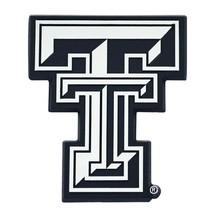 Fanmats NCAA Texas Tech Red Raiders Diecast 3D Chrome Emblem Car Truck 2-4 Days - $10.64