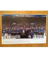 2019 Stanley Cup ST LOUIS BLUES Team Trophy Presentation Poster 11 X 17 - £11.24 GBP