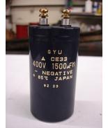 GYU CE33 Capacitor 1500uF 400V - $18.00