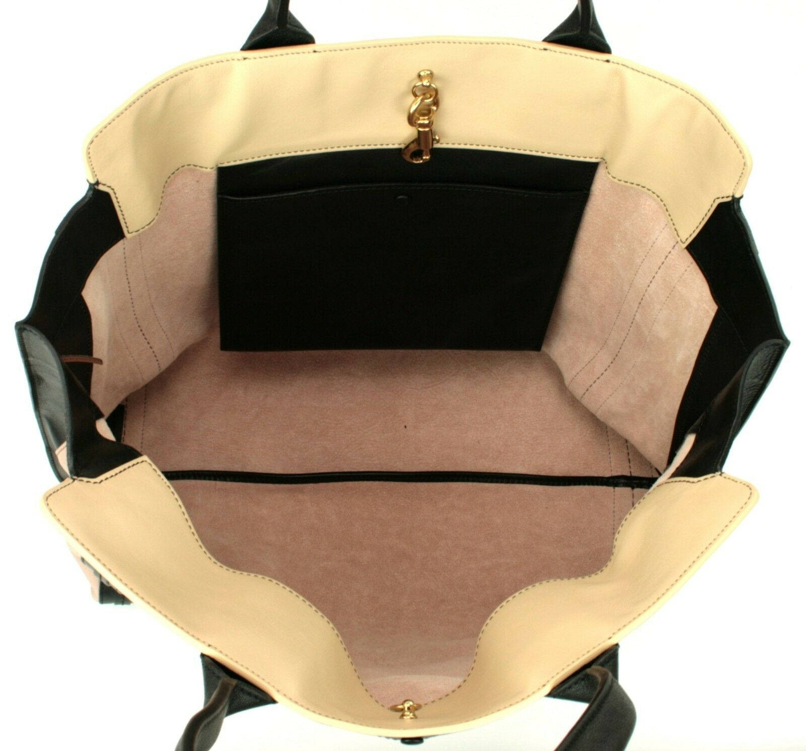 Chloe Alison Tote Bag Leather Tea Petal and Black Medium Handbag RRP £880  image 5