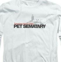 Stephen Kings Pet Sematary Retro 80's Horror long sleeve graphic t-shirt PAR293 image 2