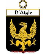 d'AIGLE French Coat of Arms Print d'AIGLE Famil... - $25.00