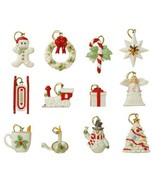 Lenox Miniature Tree Ornaments 18 Sets Winter Delights Snow Pals Autumn ... - $1,470.00