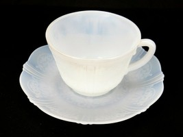 Vintage Monax Depression Glass Cup & Saucer American Sweetheart Free Shi... - $19.55