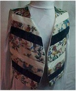 Vest, Handcrafted Ladies  S-M - $25.00