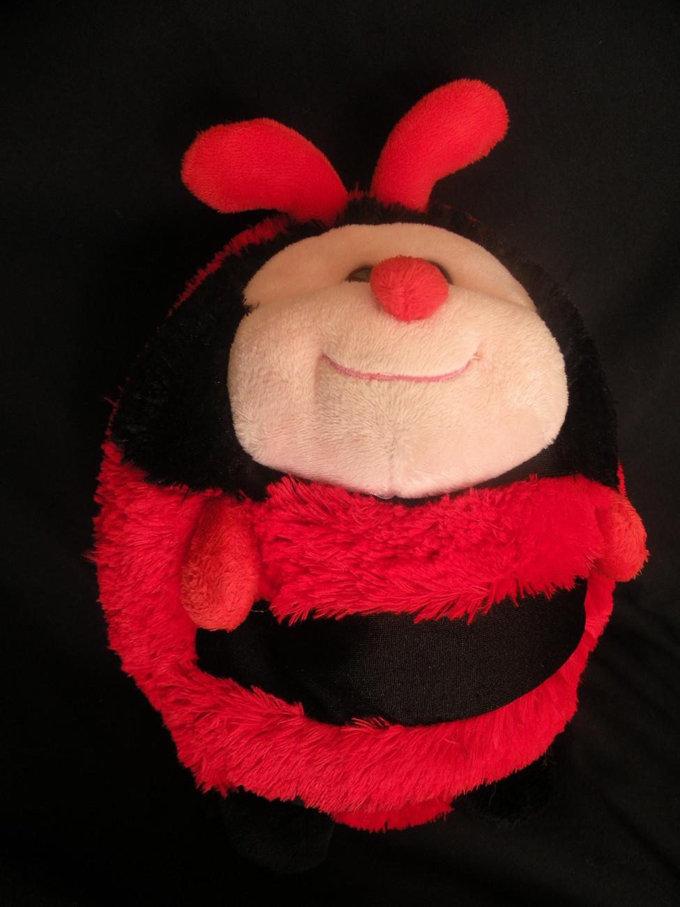Ladybug Microbead Round Plush Mini Pillow Ball Stuffed Toy 8