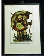 Vintage Hummel Schon Wetten Sunny Hours Print - $12.99