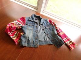 Children's Place Girl Jean Jacket Size L (10 - 12) - $9.48