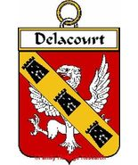 DELACOURT French Coat of Arms Print DELACOURT F... - $25.00