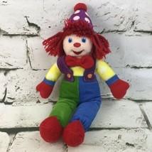 Gymboree Gymbo Clown Plush Soft Doll Stuffed Animal Circus Toy-No Sounds  - $19.79