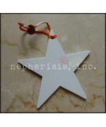NIB Hermes PETIT H Boule de Noel en Porcelaine ETOILE GM Ornament Bag Ch... - $375.00