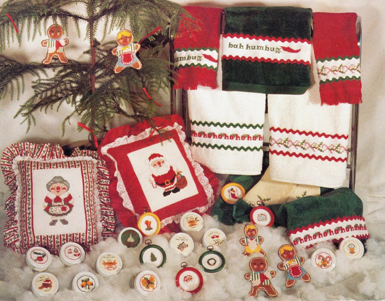 CROSS STITCH CHRISTMAS CREATIONS BY JUDY GIBBS - $3.75