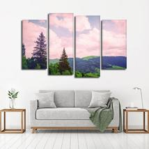 Framed 4 Piece Fantasy Landscape  Picture Poster Canvas Wall Art Home Decor - $78.95+