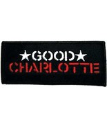 Embroidered Patch Good Charlotte Patch - $3.95