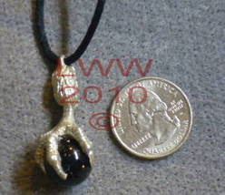 Dragon Claw Talon w/ Black Orb Necklace Pendant~NEW - $7.85