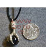 Dragon Claw Talon w/ Black Orb Necklace Pendant~NEW - $7.85