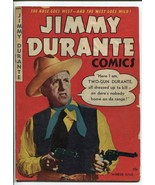 JIMMY DURANTE A-1 #20-GREAT PHOTO COVER VG - $126.10