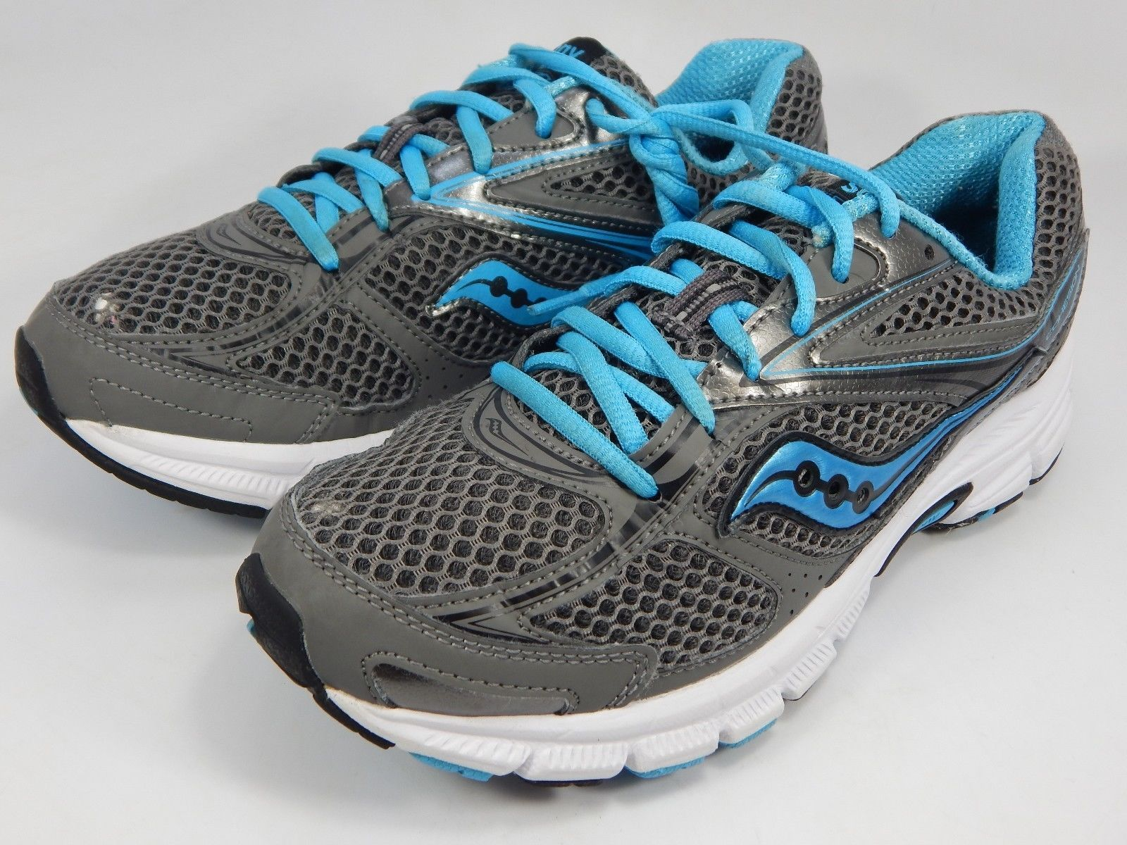 Saucony Cohesion 8 Women's Running Shoes Size US 8 M (B) EU 39 Gray S15218-12