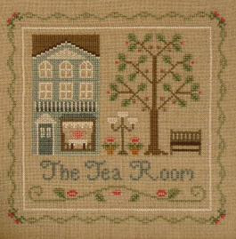 The Tea Room cross stitch chart Country Cottage Needleworks