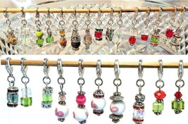 Dangle Charm w/ Lobster Claw Clasp for Bracelet/Necklace/Key Ring - YOU CHOOSE