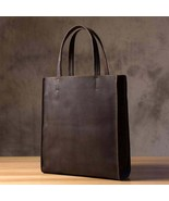 Sale, Handmade Horse Leather Tote Bag, Shopping Bag, Leather Shoulder Bag - $160.00