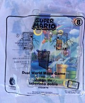 Super Mario Dual World Maze Game Toy - New 2018 McDonald's Happy Meal To... - $2.95