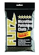 "Flitz MC200 Thick 'n Thirsty 16"" x 16"" Silver Microfiber Polishing Cloth - $6.12"