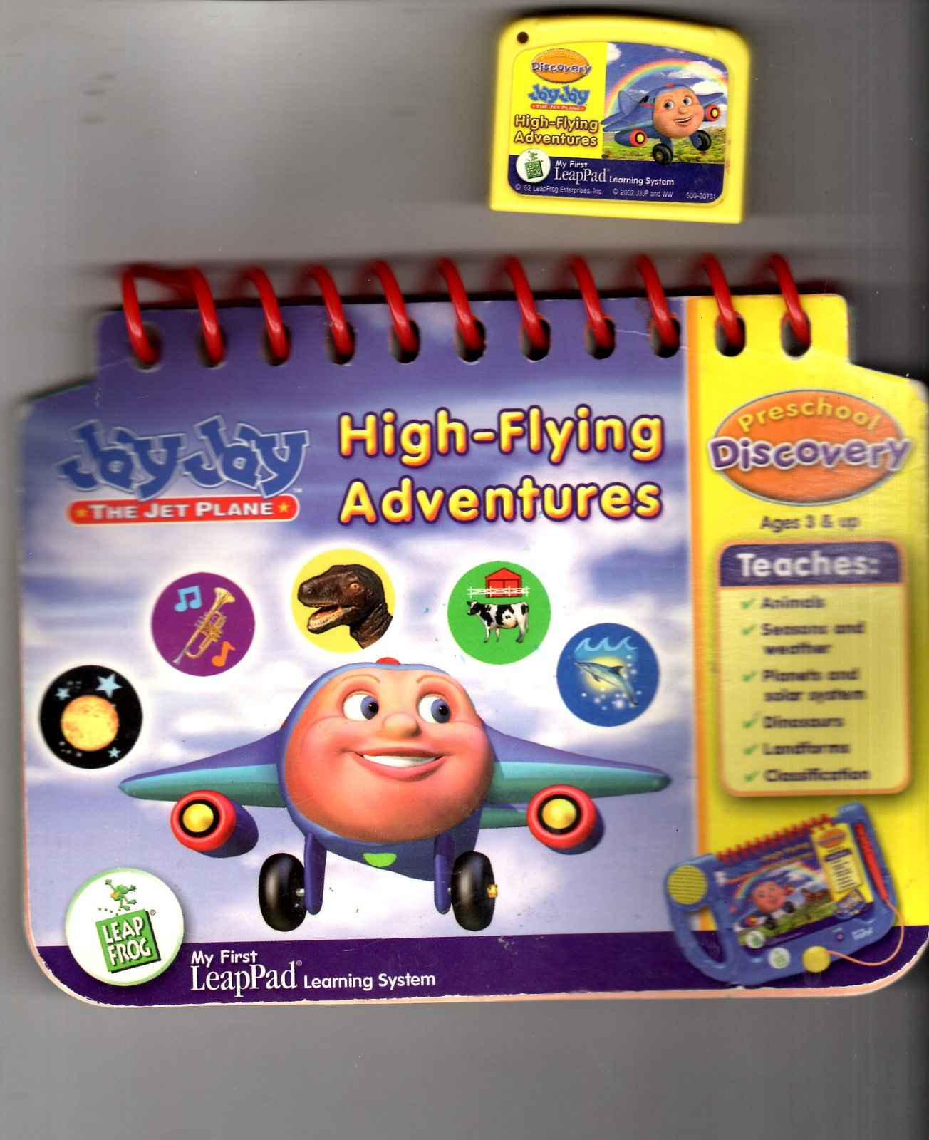 Leap Frog - My First LeapPad -  The Jet Plane High-Flying Adventures