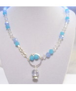 Fortune Teller Necklace with Crystal Ball Charm - $20.00