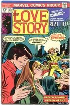 Our Love Story #35 1975- Marvel Bronze Age Romance- FN - $50.44
