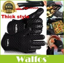 Heat Kitchen Thick Resistant Silicone Gloves Ov... - $9.99