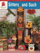 Tole Decorative Painting Sitters & Such Love Chunks Hang Ups Easter Book - $13.99