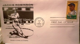 1982 JACKIE ROBINSON  COOPERSTOWN First Day Issue  ORIGINAL RARE - $2.97
