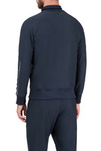 Hugo Boss Men's Slim Fit Zip Up Sweatshirt Track Jacket Sicon 50392858 Navy image 2