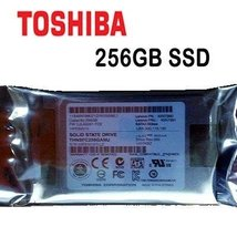 "Toshiba 256GB SSD Drives THNSFC256GAMJ 3 Gbps 1.8"" uSATA Laptop Hard Drive - $79.65"