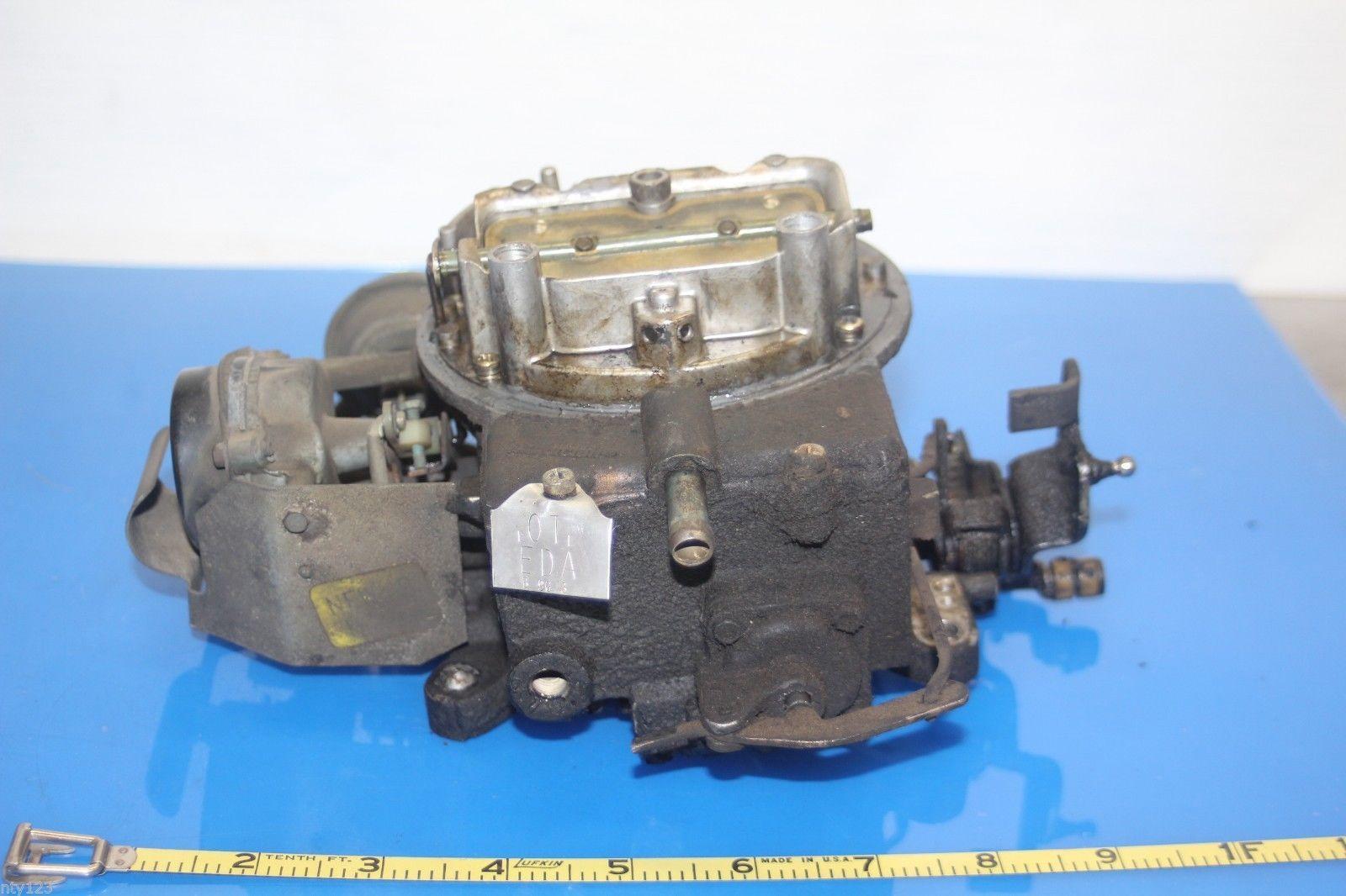 """Aluminum Holley Edelbrock AFB 4 Barel 2/"""" Carburetor Chevy Ford Chrysler Hot Rod"""
