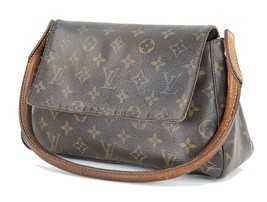 Authentic LOUIS VUITTON Monogram Mini Looping Shoulder Tote Bag Purse #3... - $195.00
