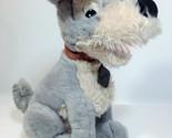 Vintage disney lady and the tramp plush dog grey stuffed animal 14   4  thumb155 crop