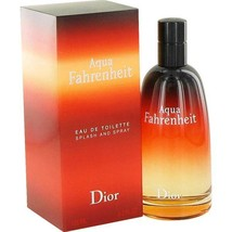 Christian Dior Aqua Fahrenheit Cologne 4.2 Oz Eau De Toilette Spray image 1