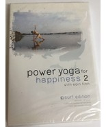 Power Yoga For Happiness 2:The Surf Edition DVD VIDEO MOVIE Eoin Finn-VE... - $39.48