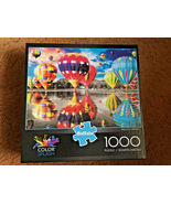 Balloon Dream, Bufffalo Games, Jigsaw Puzzle, 1000 Pieces, Used Once, 2016  - $5.00