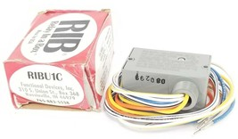 NIB FUNCTIONAL DEVICES, INC. RIBU1C RELAY 10AMPS 10-30VAC/DC 120VAC COIL 1SPDT