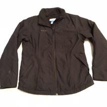 Black Columbia mens spring/fall lightweight softshell jacket/coat - Medium - $17.57
