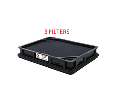 (3) PA31005 Baldwin Air Filter AF55312 Qsb 4.5, Qsf 2.8 3.8 Final Tier 4 Eng. - $93.99
