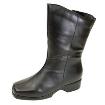 PEERAGE Simone Women Wide Width Casual/Dress Mid-Calf Leather Boot - $112.45
