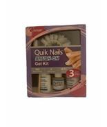 ✅Cosmar Quik Nails Brush-On Gel Kit 3 Easy Steps Short Length - $14.95