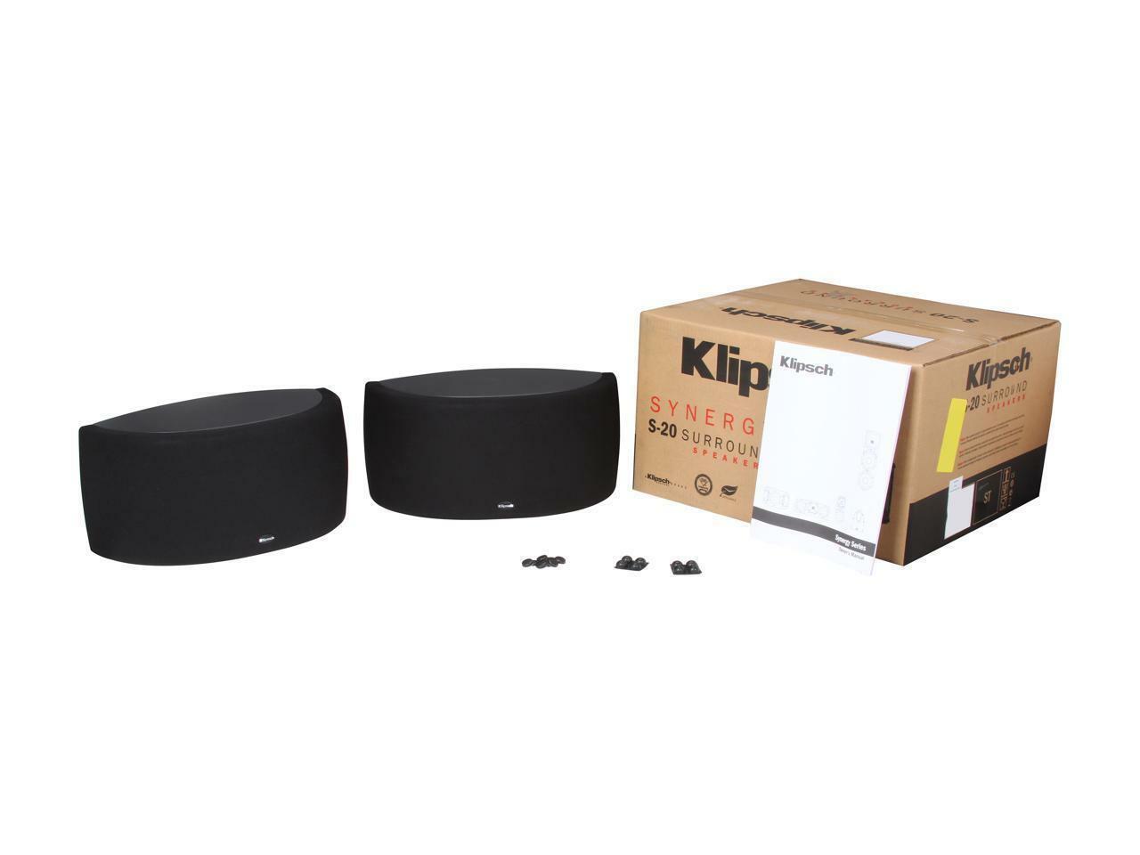 [PAIR] Klipsch Synergy S-20 Surround Speakers
