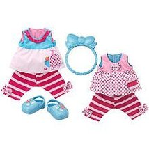 Baby Alive Pretty Ruffles Reversible Outfit - Sunny Play Date - $56.84