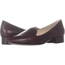 Cole Haan Dellora Skimmer Pointed Toe Loafers 967, CH Cordovan, 6 US - $63.35