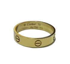 Carter Love Yellow Gold Ring 5.6mm - $1,390.00